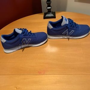 Men's New Balance 501 Royal Blue Size 9